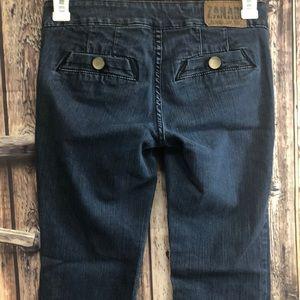 Zana Di Jeans - Zani Di 7 side button flare jeans